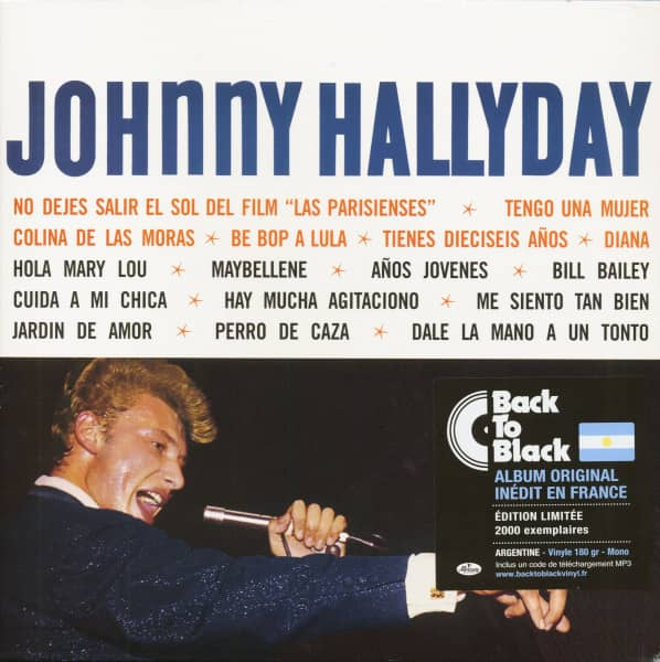 Johnny Hallyday (LP & Download, 180g Vinyl, Ltd.)