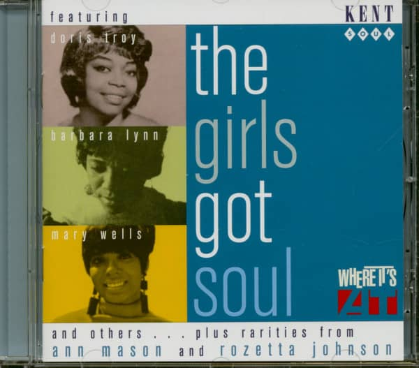 Girls Got Soul (CD)