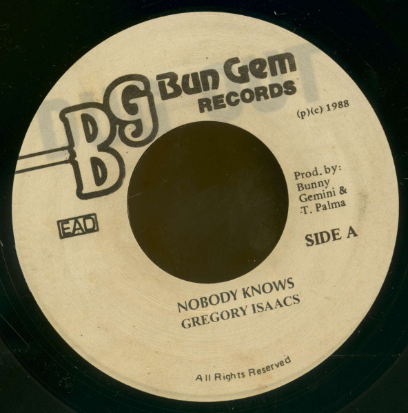 Nobody Knows - Club Mix (7inch, 45rpm, BC)
