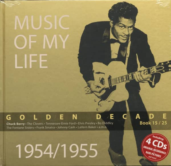 Golden Decade Vol.15 - 1954/1955 (Book & 4-CD)