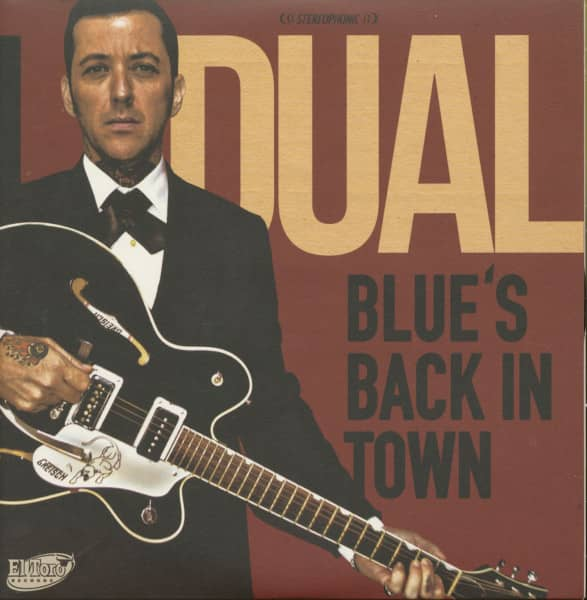 Blue's Back In Town (EP, 7inch, 45rpm, PS)