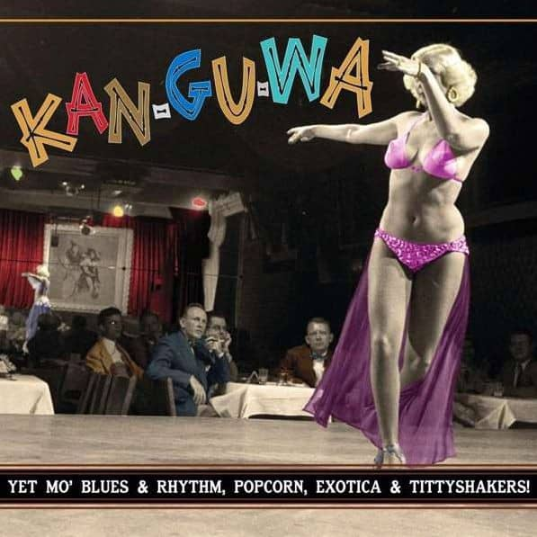 Kan-Gu-Wa (LP, 10inch, Clear Vinyl, Ltd.) - Exotic Blues & Rhythm Series Vol.3