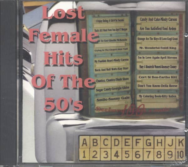 Lost Female Hits Of The 50's (CD)