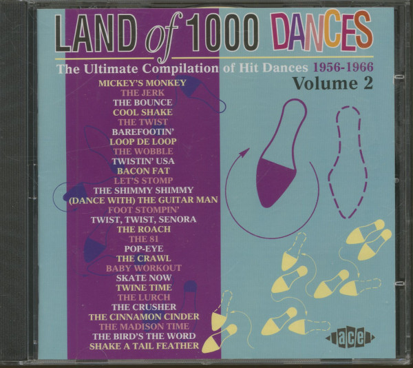 Land Of 1000 Dances Vol.2 - The Ultimate Compilation Of Hit Dances 1956-1966