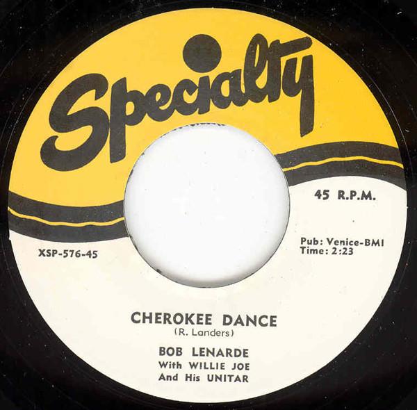 Cherokee Dance - Unitar Rock 7inch, 45rpm