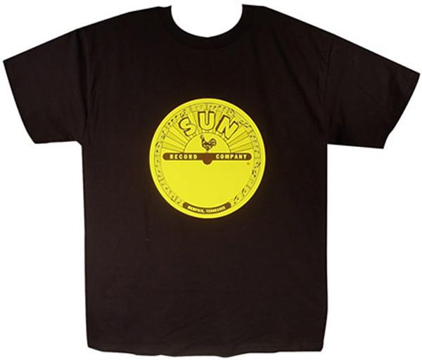 Sun Logo Shirt (XL) black - schwarz