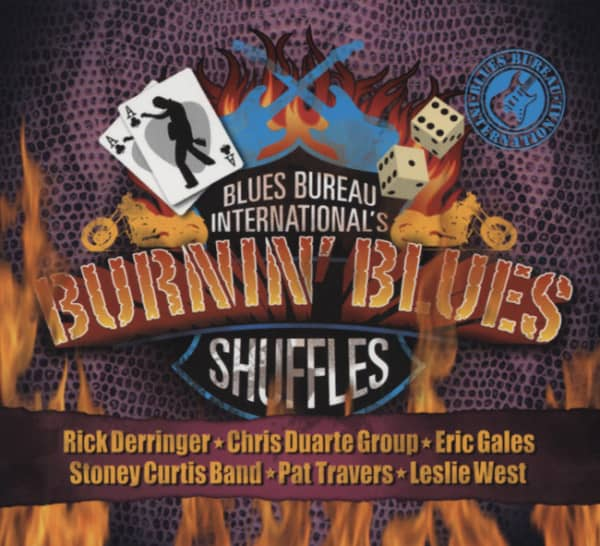 Burnin' Blues Shuffles