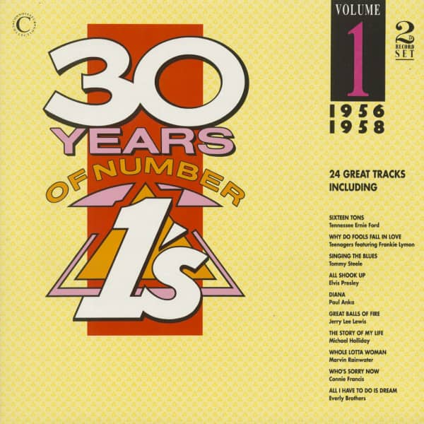 30 Years Of Number 1's, Vol.1, 1956-1958 (2-LP)