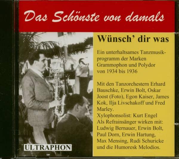 Wünsch' dir was - Ein unterhaltsames Tanzmusikprogramm (CD)