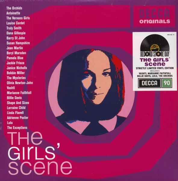 The Girls' Scene - Decca Originals (2-LP, Ltd.)