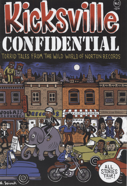Kicksville Confidential No.1 - Torrid Tales From The World Of Norton Records (Comic)