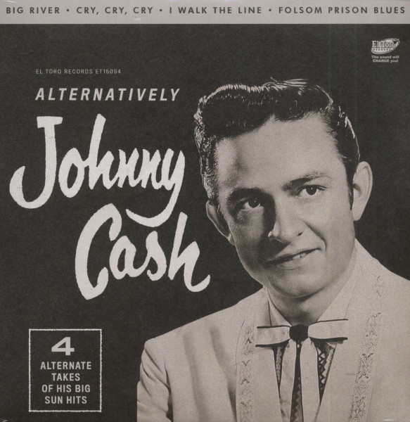 Alternatively Johnny Cash (7inch, EP, 45rpm, PS)