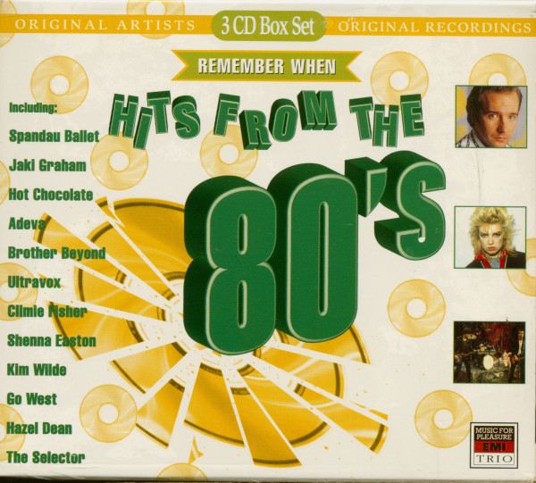 Hits From The 80's (3-CD)