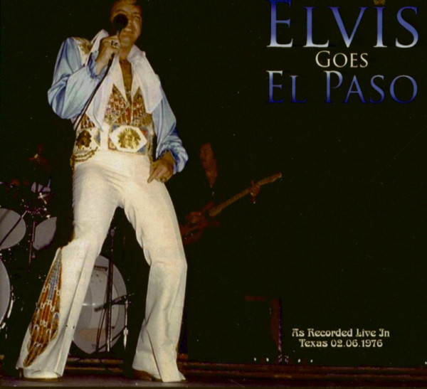 Elvis Goes El Paso (CD)