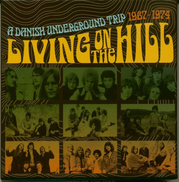 Living On The Hill-A Danish Underground Trip 1964-74 (3-CD)