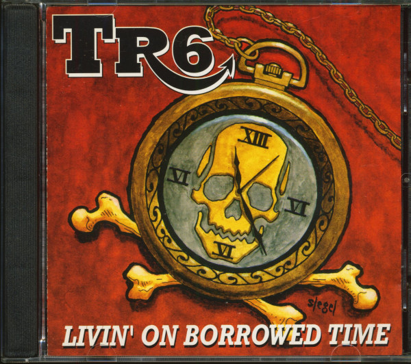 Livin' On Borrowed Time (CD)