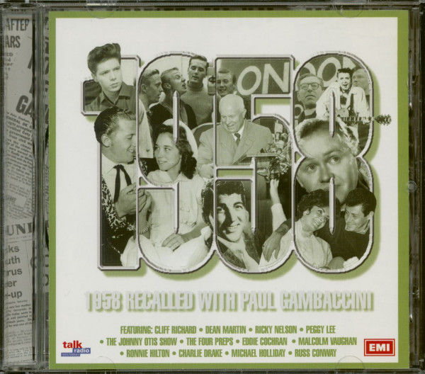 1958 Recalled With Paul Gambaccini (CD)