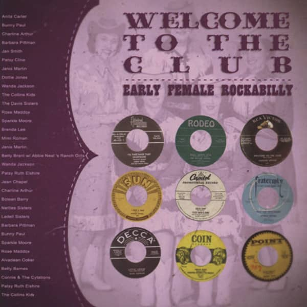 Welcome To The Club - Early Female Rockabilly