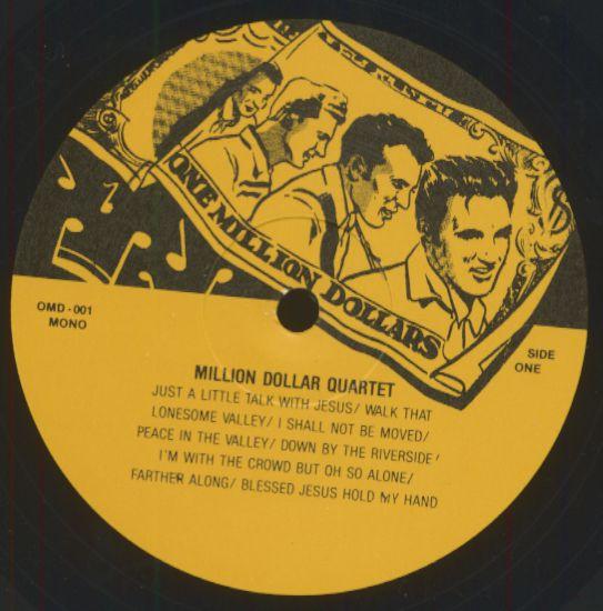 The Million Dollar Quartet Lp Million Dollar Quartet Lp