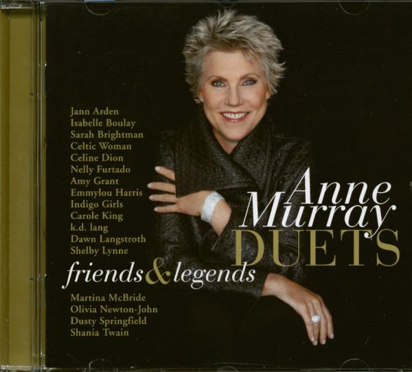 Duets - Friends & Legends (CD)