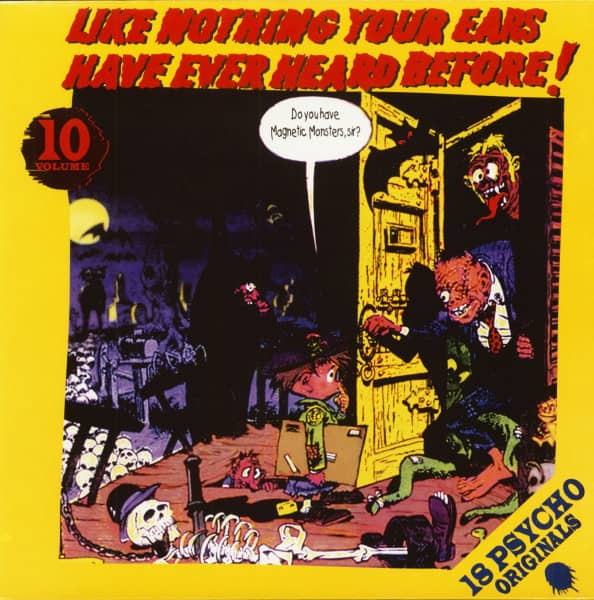 Like Nothing Your Ears Have Ever Heard Before! Vol.10 (LP)