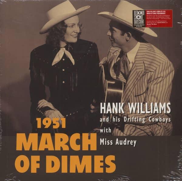 March Of Dimes (LP, 10inch, Red Vinyl, RSD, Ltd.)