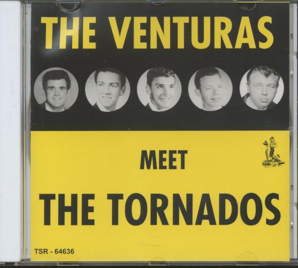 The Venturas Meet The Tornados (CD)