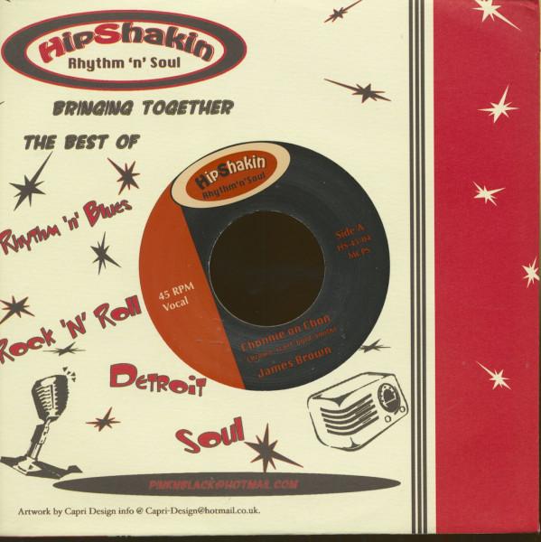 James Brown - Geno Parks (7inch, 45rpm, CS)