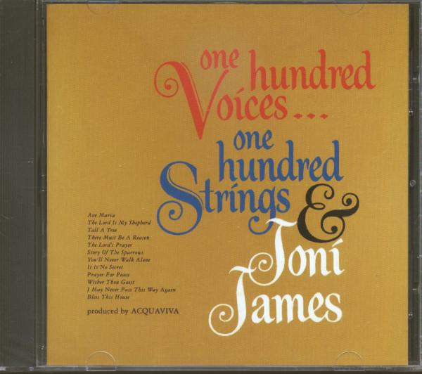 One Hundred Voices...One Hundred Strings & Joni James (CD)