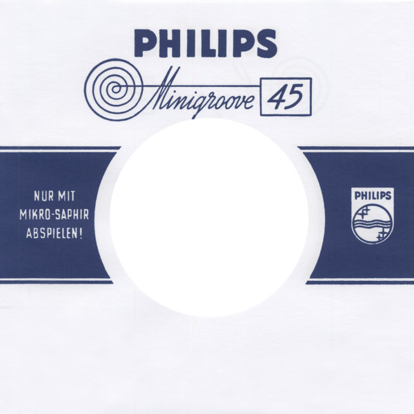 (50) Philips-Minigroove - 45rpm record sleeve - 7inch Single Cover