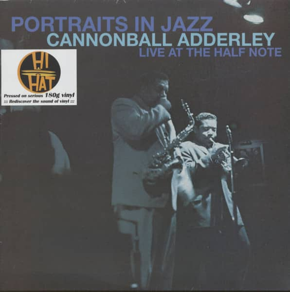 Portraits In Jazz - Live At The Half Note (LP, 180g Vinyl)