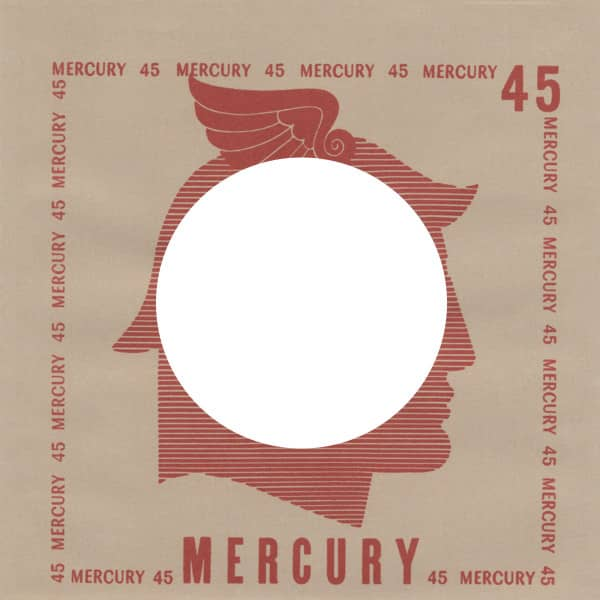 (50) Mercury, USA - 45rpm record sleeve - 7inch Single Cover