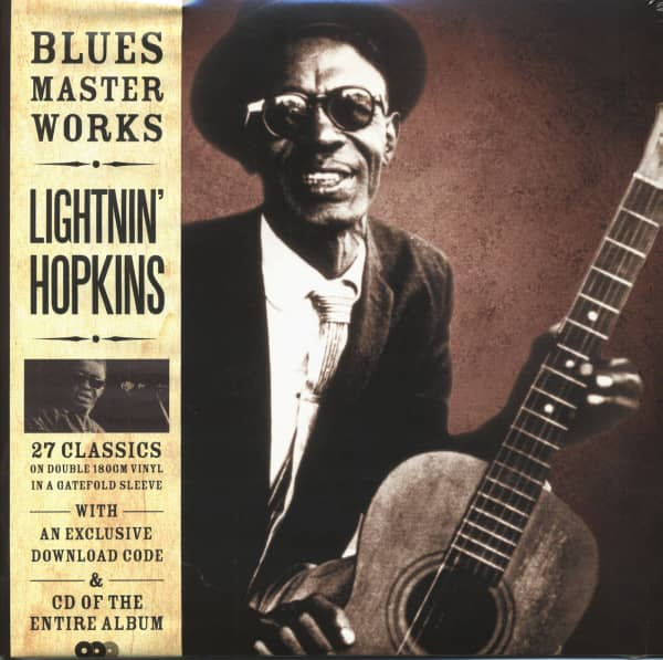 Blues Master Works (180g) (2-LP,1-CD)