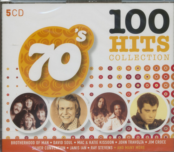 70's - 100 Hits Collection (5-CD)