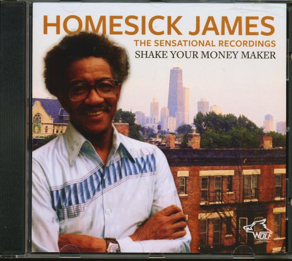 The Sensational Recordings - Shake Your Money Maker (CD)