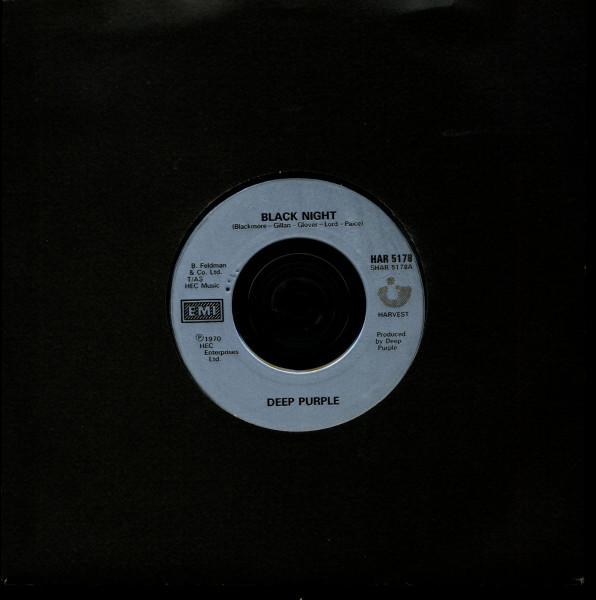 Black Night - Strange Kind Of Woman (7inch, 45rpm, SC)