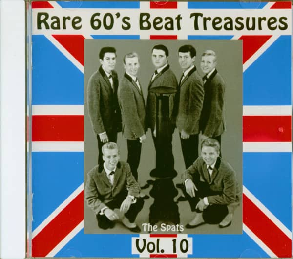 Rare 60's Beat Treasures, Vol.10 (CD)