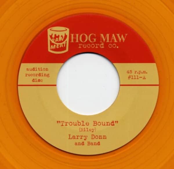 Trouble Bound b-w Rockin' Love 7inch, 45rpm