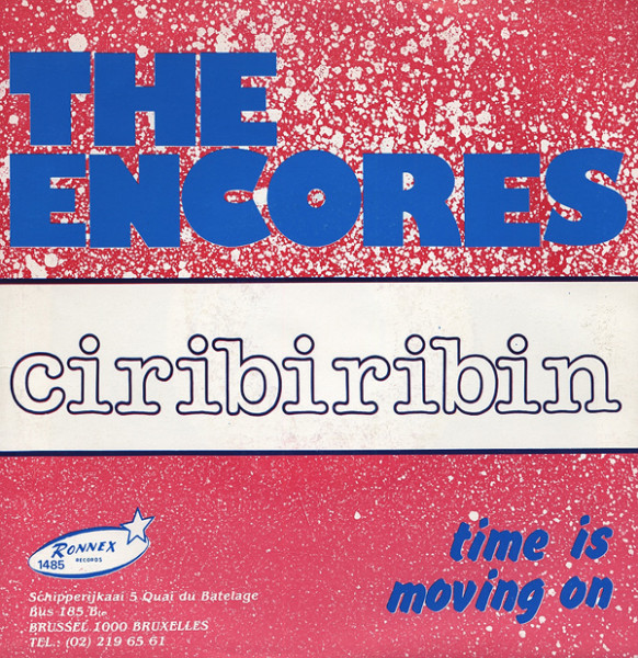 Ciribiribin - Time Is Moving On 7inch, 45rpm