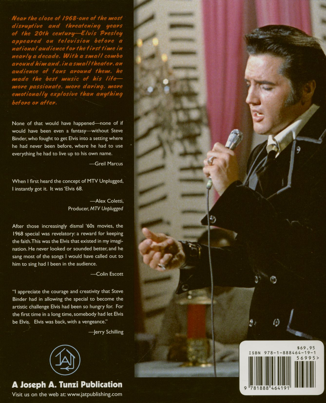 Elvis Presley Bücher/Books: 68 At 40 Retrospective