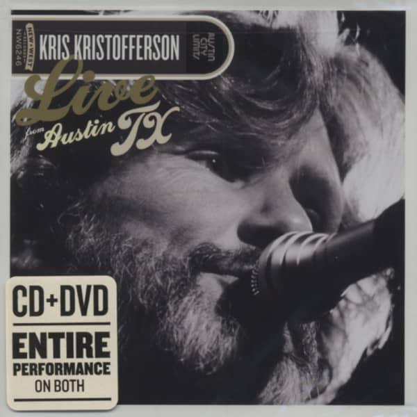 Live From Austin TX, 14.09.1981 (CD&DVD)