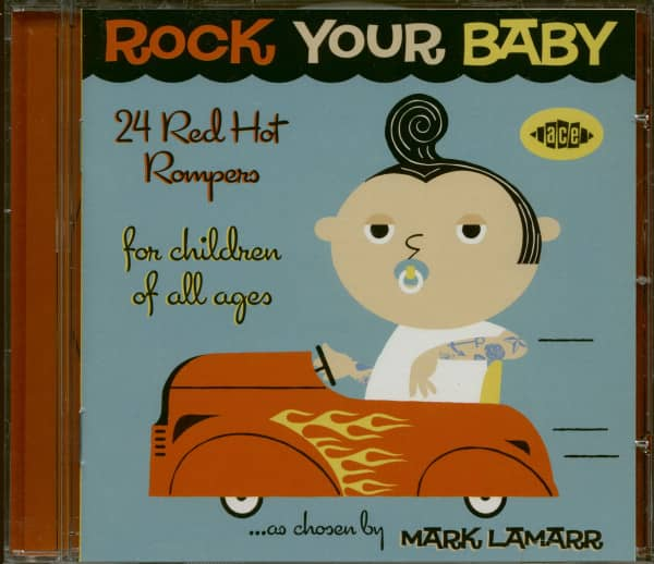 Rock Your Baby - 24 Red Hot Rompers For Children Of All Ages (CD)