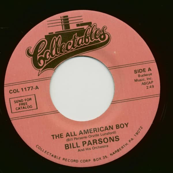 The All American Boy - Rubber Dolly (7inch, 45rpm)
