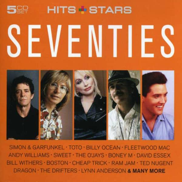 Seventies - Hits & Stars (5-CD)