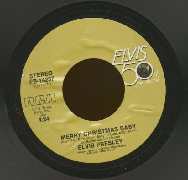 Merry Christmas Baby - Santa Claus Is Back In Town (7inch, 45rpm)