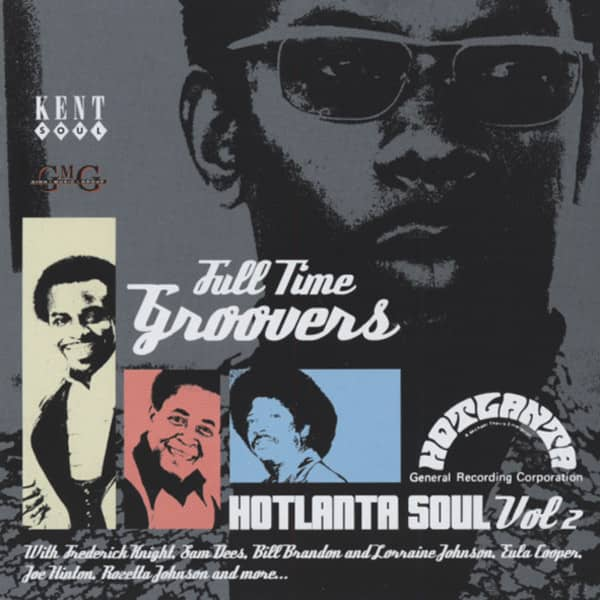 Full Time Groovers - Hot Atlanta Soul Vol.2 (CD)