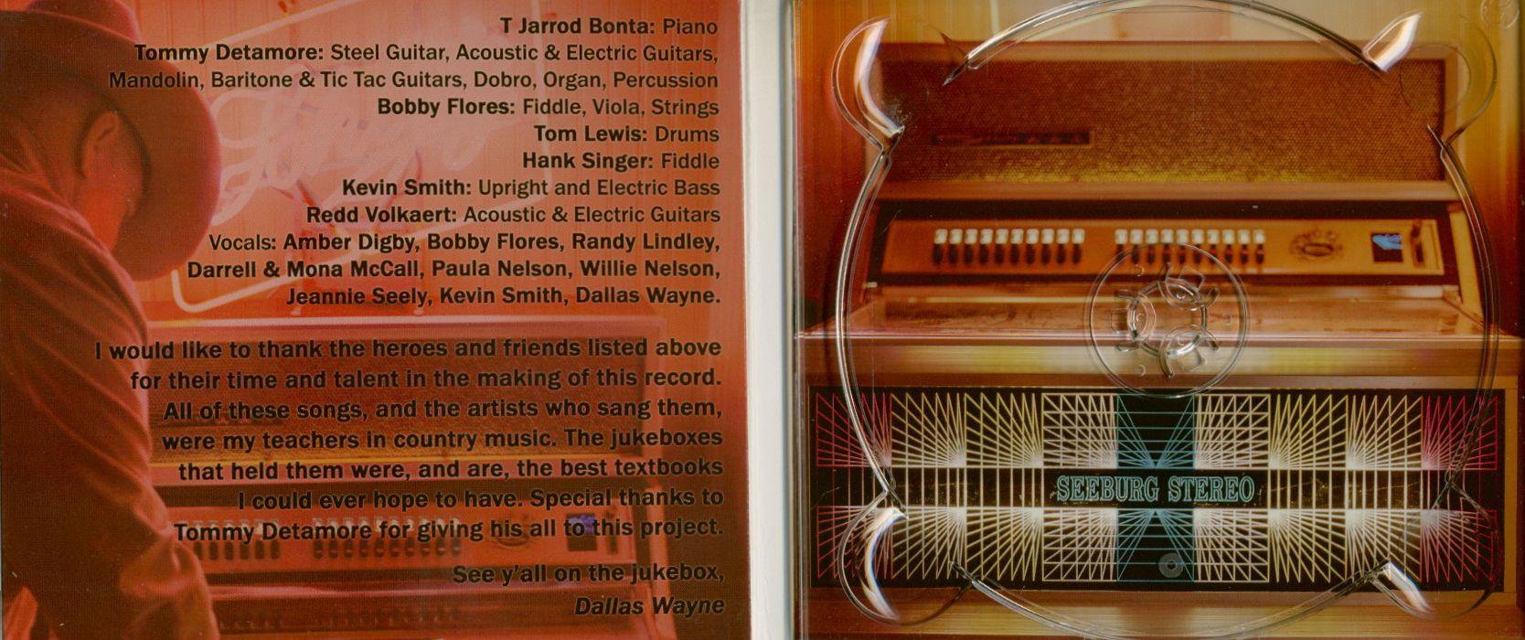 Dallas Wayne Songs The Jukebox Thought Me (CD)