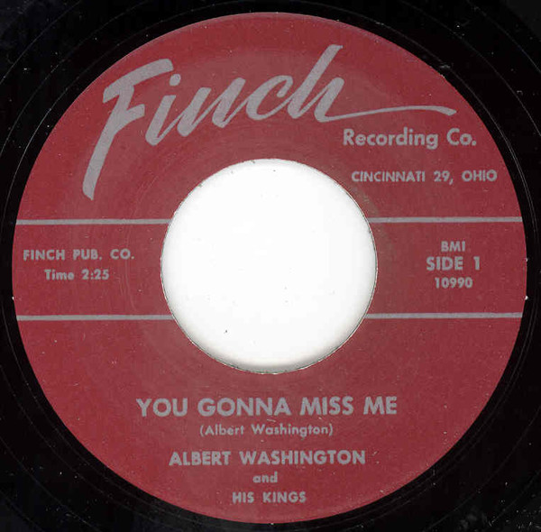 You Gonna Miss Me - Ramble 7inch, 45rpm
