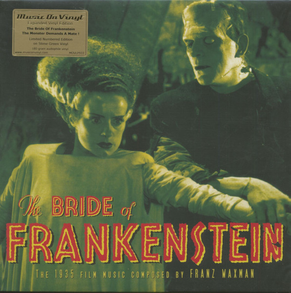 The Bride Of Frankenstein - Soundtrack (LP, 180g Vinyl, Ltd.)
