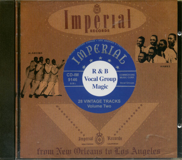 Vocal Group Magic, Vol.2 - Aladdin - Imperial (CD)